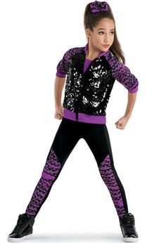 Weissman Hip Hop Dance Costumes Recital Competition Glee High Ultra