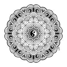 I Create Mandalas That Help Me To Relax