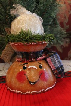 Gingerbread Candle HolderChristmas Candle by CraftsByJoyice, $14.95