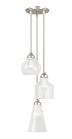 Danube 16 3 Light Chrome Pendant At Menards