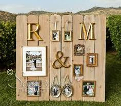 Love this idea of a picture wall