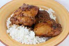 A Year of Slow Cooking: Honey Garlic Chicken Slow Cooker Recipe - mine is in the slow cooker now!