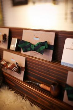 BOW TIES :)..I will be buying this to make bowties