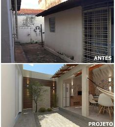 1 veces he visto estas serenas remodelacion de casas. House Design, House, House Exterior, Home Remodeling, House Plans, New Homes, Home Renovation, Home Deco, House Designs Exterior