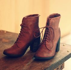 Lace up booties - need for fall