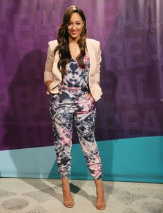 'The Real' Style Breakdown: Jan. 2015 - The Real Talk Show Photo Gallery Tamera in Bebe jacket & Asos Beautiful Outfits, Cool Outfits, Fashion Outfits, The Real Talk Show, Real Style, My Style, Tamera Mowry, Some Girls, Passion For Fashion