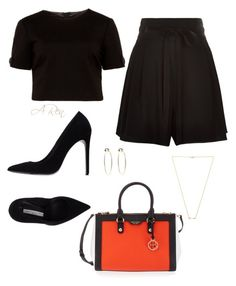 """""""115"""" by angelicaren ❤ liked on Polyvore featuring Marc Jacobs, Ted Baker, Gianmarco Lorenzi, Bebe, Wanderlust + Co and Henri Bendel"""