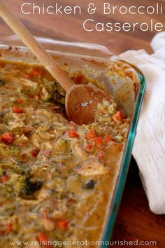 Classic Chicken & Broccoli Casserole