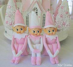 Pink vintage elves knee huggers!  I would love to find pink ones!!!