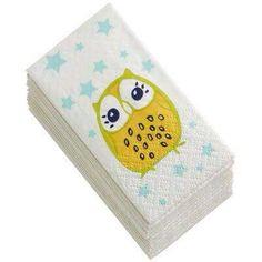 Owl facial tissue
