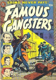 COMIC famous gangsters 6 #comic #cover #art