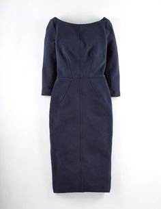 Boden Aurelia Ottoman Party Dress Blue Boden, Blue Youll love this figure-hugging below-the-knee dress as much as it loves your body. The seasons sexiest shape? http://www.comparestoreprices.co.uk/january-2017-9/boden-aurelia-ottoman-party-dress-blue-boden-blue.asp
