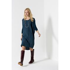 DRESS | long sleeve mechanical design in two colours by elk | Cranmore Home