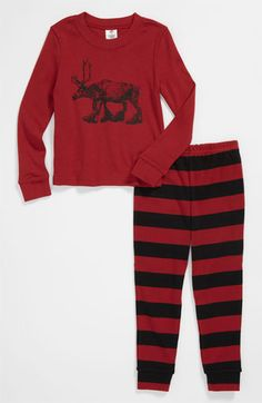 Tucker + Tate Two Piece Fitted Pajamas (Infant) available at #Nordstrom