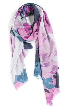 Nordstrom 'Delphine' Wool & Cashmere Scarf available at #Nordstrom