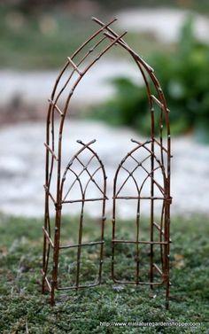 miniature under glass   for my miniature garden-under-glass
