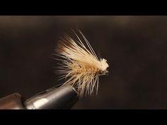 Beginner Fly Tying Tips - Part 10: The Elk Hair Caddis.wmv - YouTube
