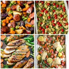16 Healthy Sheet Pan Dinners | Healthy Ideas for Kids