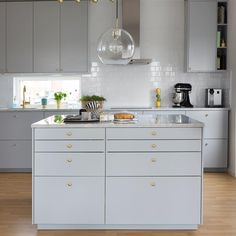 Some parts of the remodel are easier than expected as IKEA kitchen design ideas include those DIY steps we are all used to from the. Kitchen Furniture, Kitchen Interior, New Kitchen, Interior Design Living Room, Kitchen Dining, Kitchen Decor, Kitchen Countertop Organization, Kitchen Countertops, Hacks Ikea