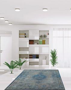 Tapete Reloaded Chenille Decor, Shelves, Bookcase, Home Decor, Rugs