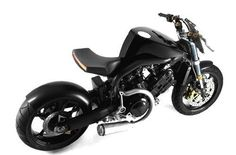 Cafe Racer Super Naked Bike by Philipe Starck from Voxan