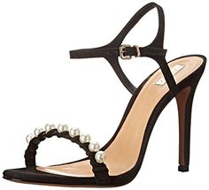 Schutz Womens Danielle Dress Sandal Black Nubuck 75 M US * Click image to review more details.(This is an Amazon affiliate link and I receive a commission for the sales)