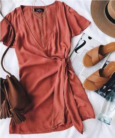 rusty dress,Cute summer outfit ideas – Just Trendy Girls