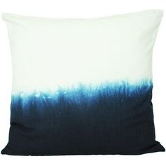 $15 Calyz for Global Goods Partners Indigo Ombre Square Pillow