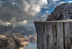 Handstand on Preikestolen, Norway by Europe Trotter on 500px