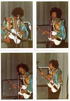 Jimi Hendrix with Gibson SG Custom 1967 Jimi Hendrix Experience, Gibson Sg, Gibson Les Paul, Rock Music, My Music, Rock N Roll, Jimi Hendricks, Historia Do Rock, Psychedelic Music