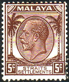 Straits Settlements 1936 SG 263 King George V Head Fine Mint SG 263 Scott 220 Condition Fine LMM Gum is toned Only one post charge applied on