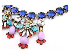 Vintage Petal Choker Necklace