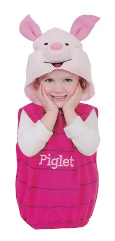2c08812438ea Piglet Costume Infant   ... Newborn Baby Halloween Costume Boys S ...