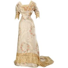 Edited by Beverly in Photoshop ❤ liked on Polyvore featuring dresses, vintage, gowns, victorian, vintage dresses, vintage victorian dresses and victorian dresses