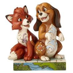 Jim Shore Disney Traditions by Enesco Fox and The Hound Figurine -- Check out this great product.