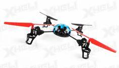 WL Toys RC Beetle V929 Quadcopter 4 Channel 2.4Ghz (Blue)