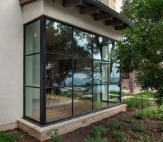 Durango Doors Millennium line & On Trend: Floor-to-Ceiling Glass and Steel Windows | Steel doors ... pezcame.com