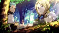 Lowen & Kiki ! #Akagami no #Shirayuki Hime I love how mitsuhide is holding the bunny