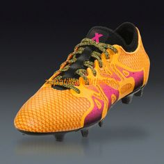 promo code c83f1 94f6c Botas De futbol Adidas X 15+ Primeknit FG AG Solar Oro De Choque Rosa