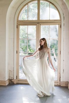 Ethereal gowns by Alexandra Grecco