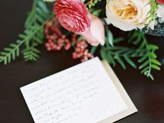 """The rules dictate that every gift deserves a thank-you note. Between saying """"yes"""" and """"I do,"""" you'll be doing a lot of note-writing. Here are the elements of a perfectly penned letter of gratitude."""