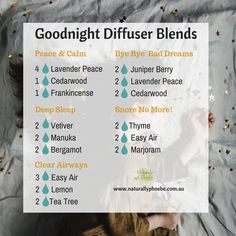 Best 12 Gorgeous diffuser blends to use at bedtime. Sleeping Essential Oil Blends, Essential Oils For Sleep, Essential Oil Diffuser Blends, Essential Oil Uses, Doterra Diffuser, Helichrysum Essential Oil, Doterra Essential Oils, Doterra Blends, Aromatherapy Oils