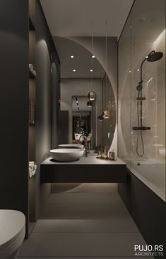 Small Luxury Bathrooms, Modern Luxury Bathroom, Bathroom Design Luxury, Bathroom Layout, Modern Bathroom Design, Small Bathroom, Small Elegant Bathroom, Bathroom Ideas, Luxurious Bathrooms