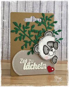Gerda Steiner Designs -Peeking Panda, Create a smile stamps - Für alle Fälle