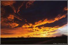 22.12.2014 - Traumhafter Sonnenuntergang @ Hartberg (STMK)