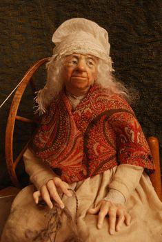 Anna Brahms dollmaker Sleeping Beauty Number 8