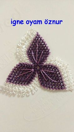 This Pin was discovered by Gul Ribbon Embroidery Tutorial, Silk Ribbon Embroidery, Baby Knitting Patterns, Crochet Patterns, Diy And Crafts, Arts And Crafts, Needle Lace, Lace Making, Bargello