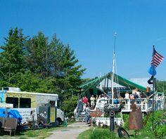 Tom's Burned Down Cafè on Madeline Island: One of Americas Best Beach Bars