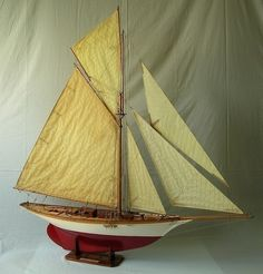 https://flic.kr/p/e9UT7a | Maquette Ancien yacht voilier AVEL Camper & Nicholson   .....................................Please save this pin.   ............................................................. Click on the following link!.. http://www.ebay.com/usr/prestige_online