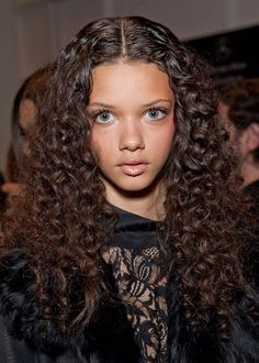 curly Long Hairstyles   Daily Hairstyles: Gorgeous Long Curly Hairstyle from Marina Nery ...